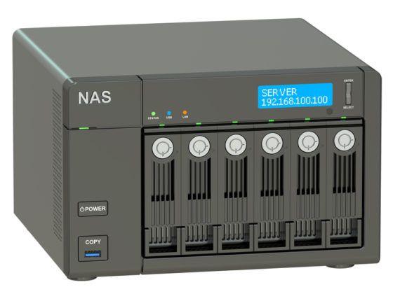 Hos GladTeknik hjælper vi dig med opsætning af NAS servere og mere!