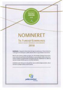 Nomineret til CSR-prisen 2018