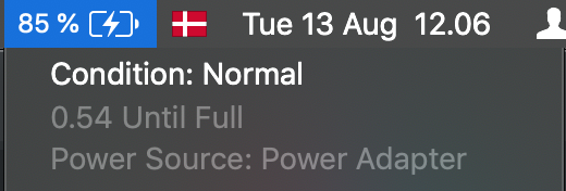 Batteri tjek