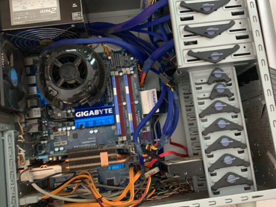 Kabelstyring i computer